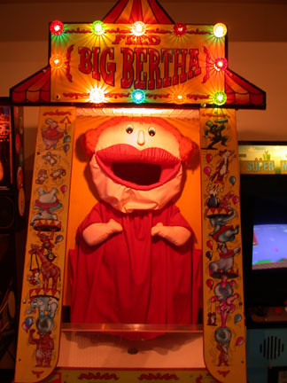 Feed Big Bertha Arcade Game Copyright 2004 Patia