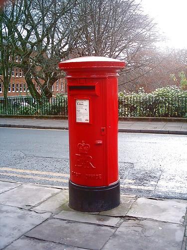 Post BoxMail Box Winckley SquareNorth Side Elizabeth