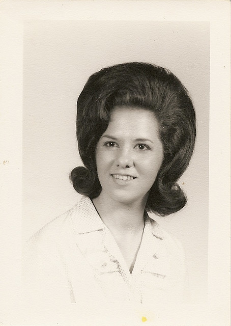 big hair late 1950s-early 1960s