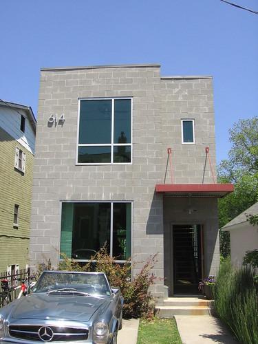 Block House 614 Irwin St NE Atlanta Modern Homes Tour
