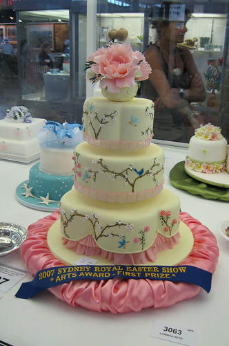 Sydney Easter Show 2007  competition cake  My entry in