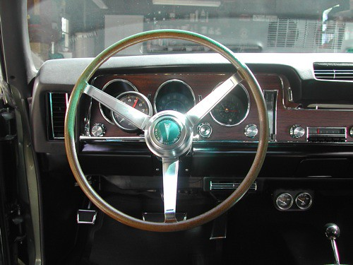 1968 GTO Interior  Heres a shot from the drivers seat Tu  Flickr