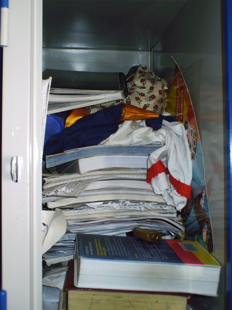 Full Locker All My School Books And My Stuff My Shit Th Flickr