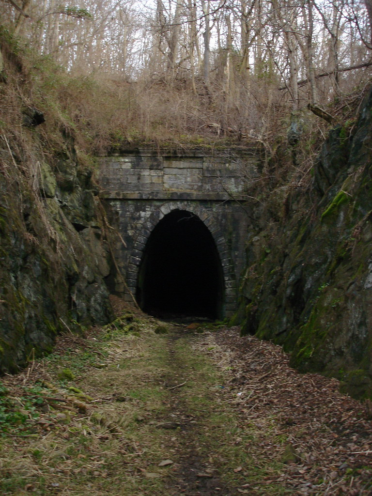 Abandoned Tunnel  Claudius Crozets now abandoned Blue