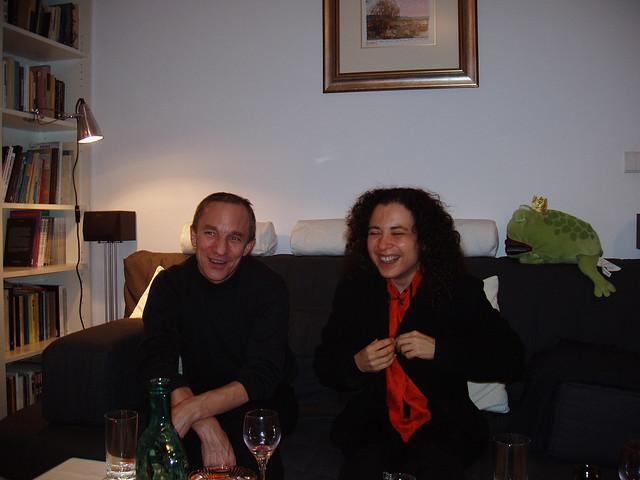Stanislaw Obirek and Shoshana Ronen II  Flickr  Photo