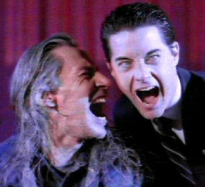 Bob and Coop  Frank Silva and Kyle MacLachlan A native of
