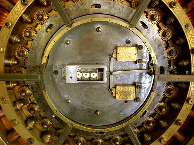 Old Vault Door  Old Vault Door located on the 4th floor of   Flickr