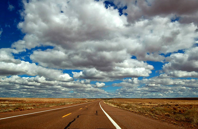 The Open Road  The skies were so BIG out on the highways T  Flickr