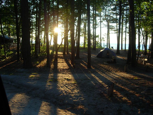 Twelve Mile Beach Campground  This is my favorite