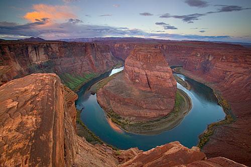 Horseshoe Bend Colorado River Arizona  The Colorado