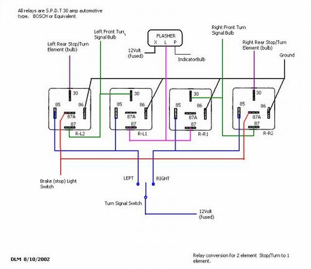 5 Wire Trailer To Truck Wiring Diagram Brake Light Blinker Relay Circuit Wollfe Flickr