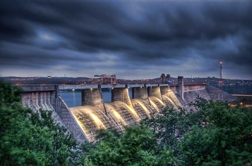 Mansfield Dam  Originally called Marshall Ford Dam the