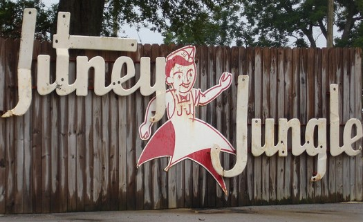 Jitney Jungle Sign