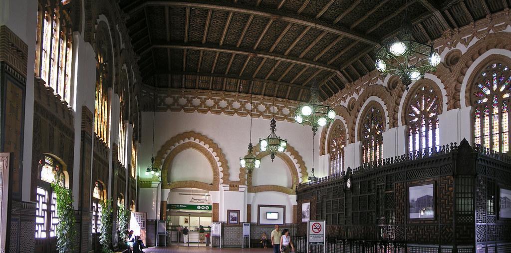 Toledo interior Estacion de Ferrocarril 11