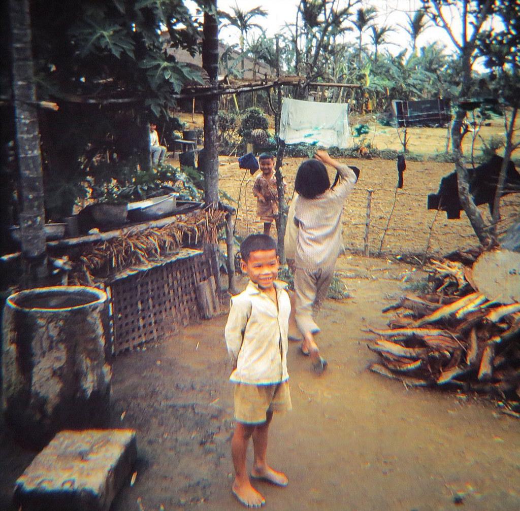 Vietnamese Village Children Kids People Vietnam 1960s  Flickr