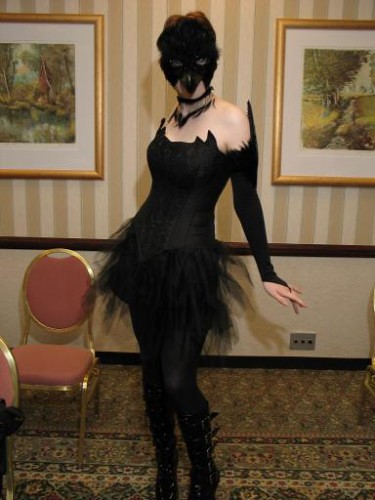 Crow at DragonCon 05 2  Heres me in my crow costume