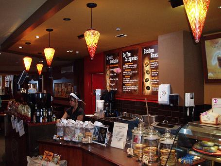 Inside Gloria Jean Coffee Shop Charlie Brewer Flickr