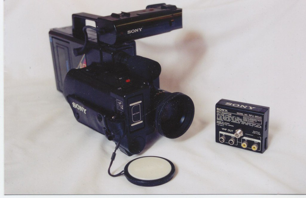 Old Sony Video Camera  My first video camera that I