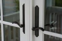 French door handles | These handles on the French door ...