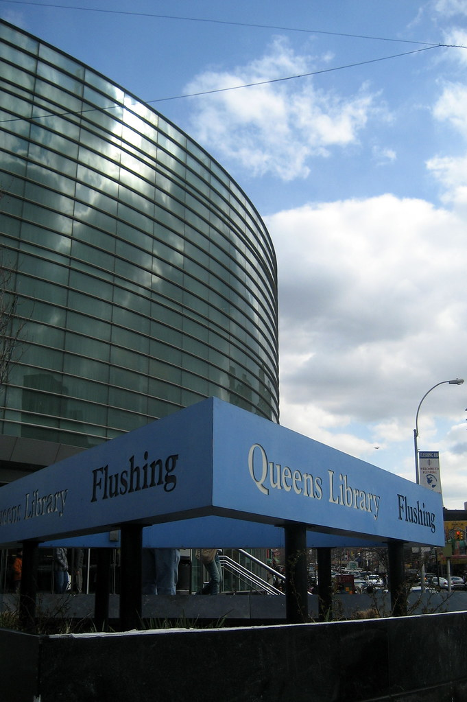 NYC  Queens  Flushing Queens Library  The Queens