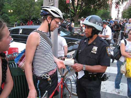 Getting ticketed