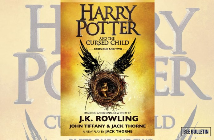 Harry Potter and the Cursed Child by Jack Thorne - Top 10 Best Books of 2016