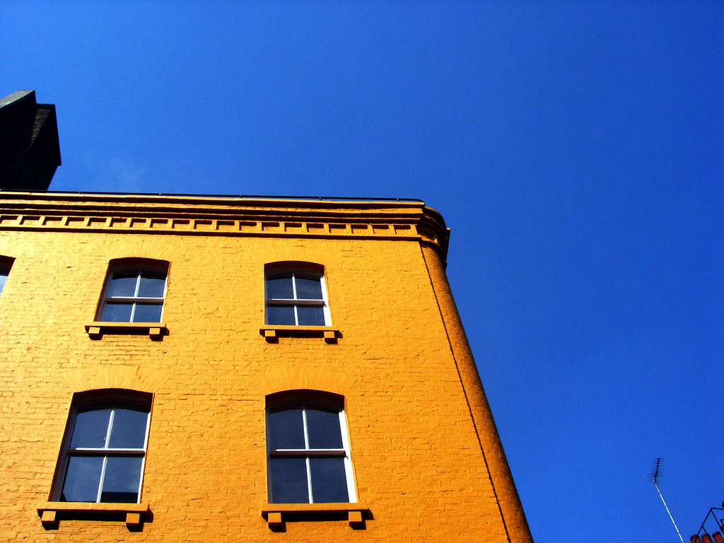Yellow Building Blue Sky  Carnaby Street London  Flickr