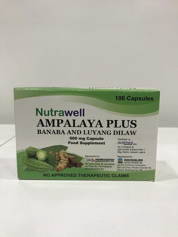 Ampalaya Plus Banaba and Luyang Dilaw