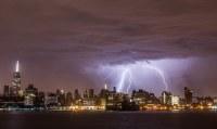 Early Morning Lightning Storm Over New York City | Anthony ...