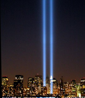 NYC Twin Lights 9/11