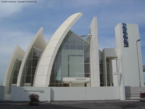 Richard Meier's Church Of The Year 2000 Jubilee Church