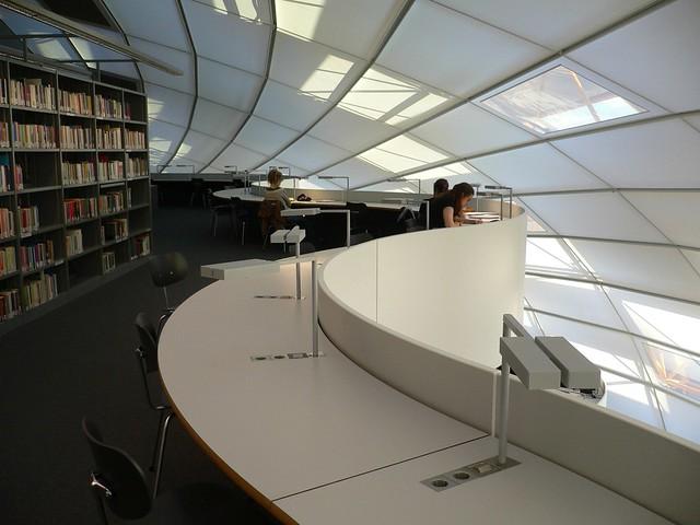 Norman Foster Library FU Berlin  Philologische Bibliothek