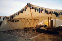 bedouin tent - retouched | A Photo from Estrella War 2004 ...