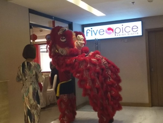 chinese new year celebrations at Jinjiang Inn