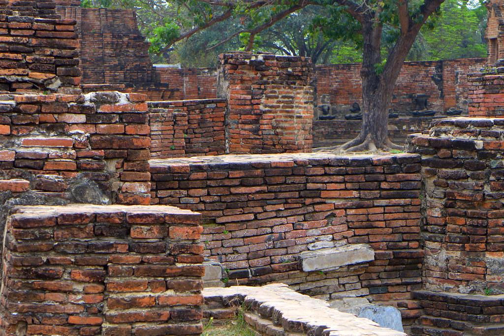 Thaïlande - Ayutthaya - 025 - Wat Maha That
