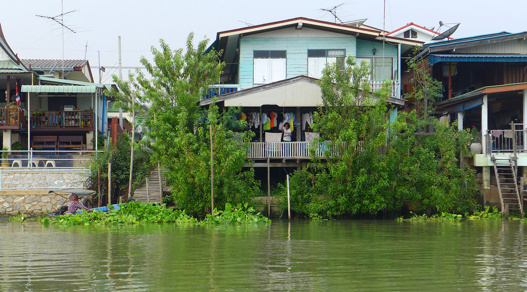 Thaïlande - Ayutthaya - 123 - Sur la Chao Phraya