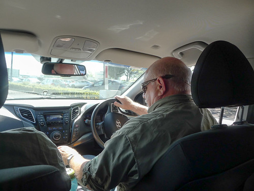 Stephen Driving on the Right