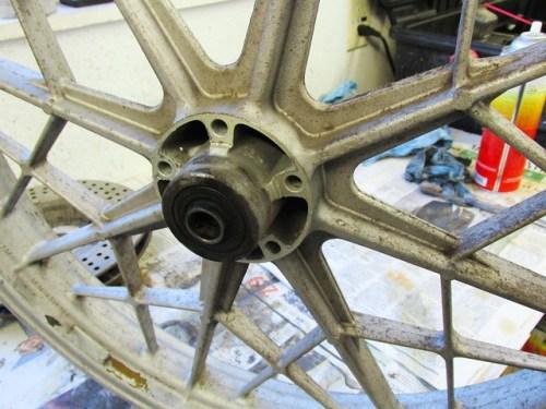 Front Wheel Left Side of Hub