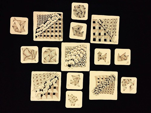 """Beyond Basics: Shades of Grey"" class tiles"