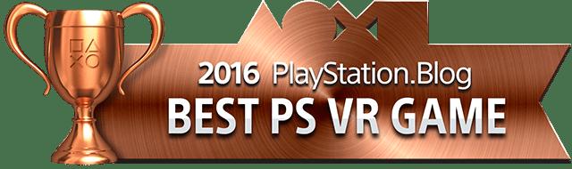 Best PlayStation VR Game - Bronze