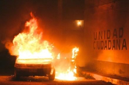 Riña poselectoral entre panistas y policías en San Martín de la Pirámides