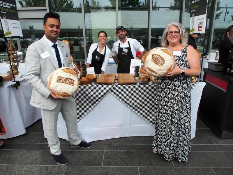 Neilesh & Alexa at Ace Bakery - Toronto Taste 2015