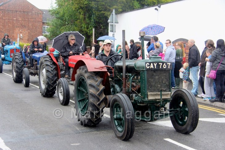Tractors at the Heart of the Forest Festival 2015