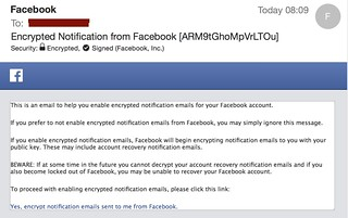 facebooks if you want encrypted