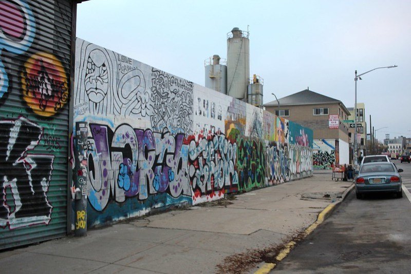 Graffiti in Bushwick