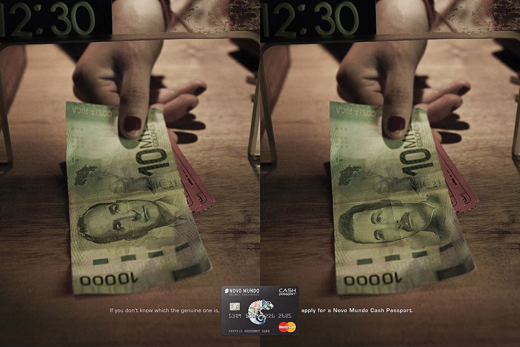 Novo Mundo Cash Passport - Costa Rica