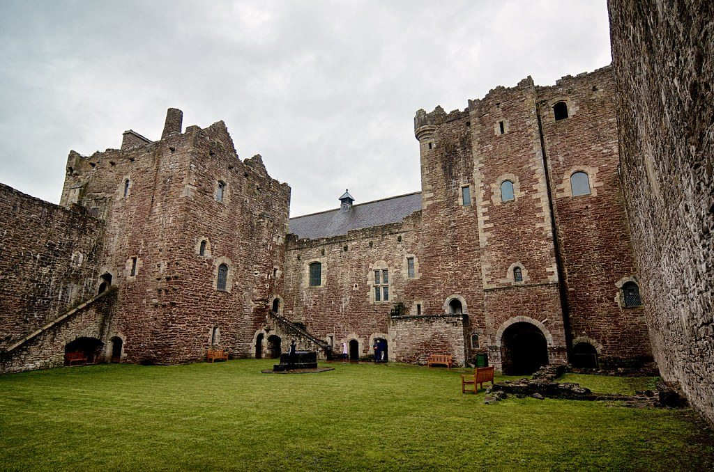 Doune Castle Courtyard  This is the courtyard at Doune Cast  Flickr