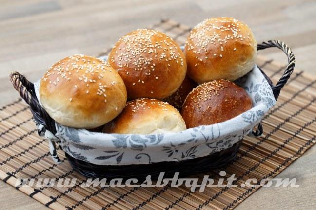 Burger buns hamburger broodje