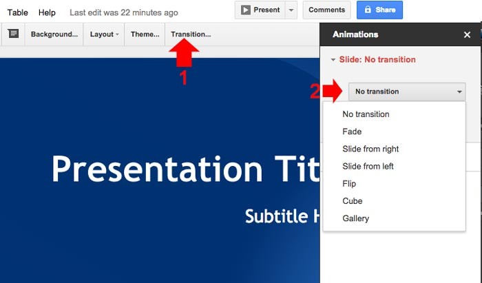 How to create powerpoint presentation step 9