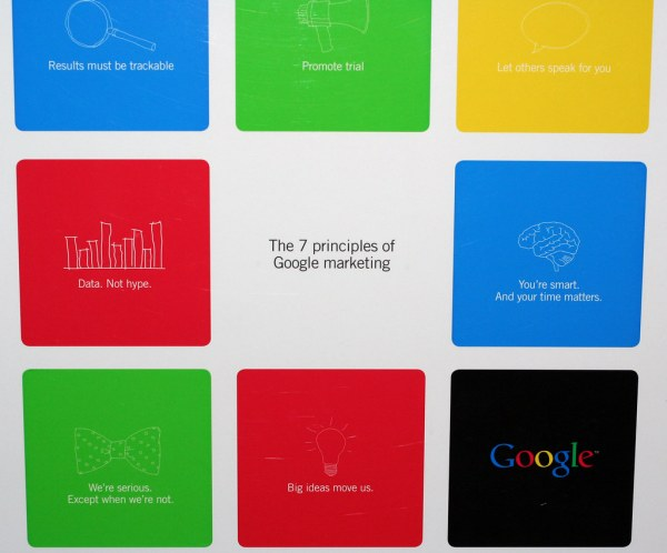 Google Marketing Principles Niall Kennedy